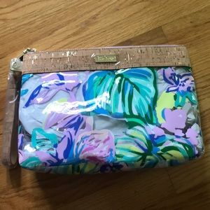 Lilly Pulitzer GWP pool bag/wristlet